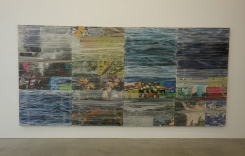 Margo Wolowiec: Still Water, Circling Palms @Marlborough Contemporary