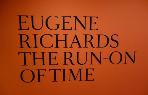 Eugene Richards: The Run-On of Time @ICP