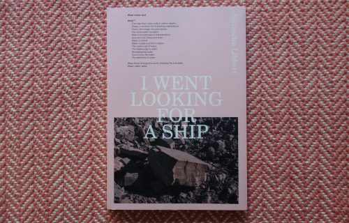 Natascha Libbert, I Went Looking for a Ship