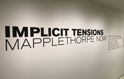 Implicit Tensions: Mapplethorpe Now (Part 2) @Guggenheim