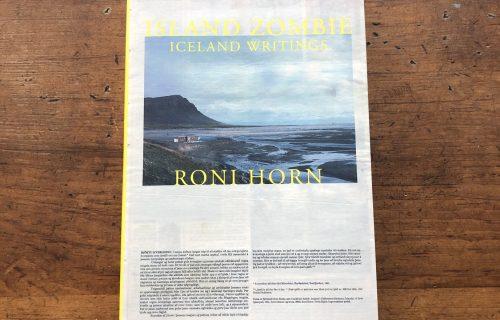 Roni Horn, Island Zombie: Iceland Writings