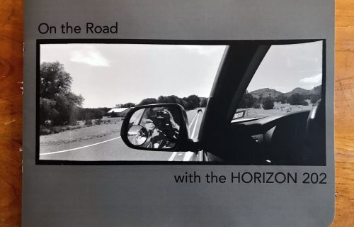Liz Potter, On the Road with the Horizon 202