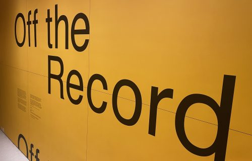 Off the Record @Guggenheim