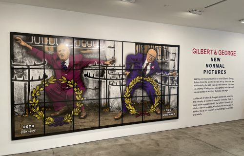 Gilbert & George, New Normal Pictures @Lehmann Maupin